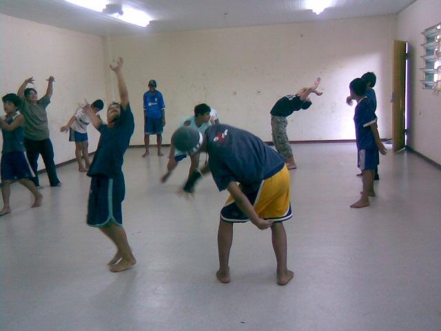 Chicos del hogar Don Bosco Roga, en Asunción